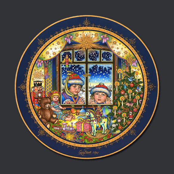 Gero Trauth - Christmas Plates